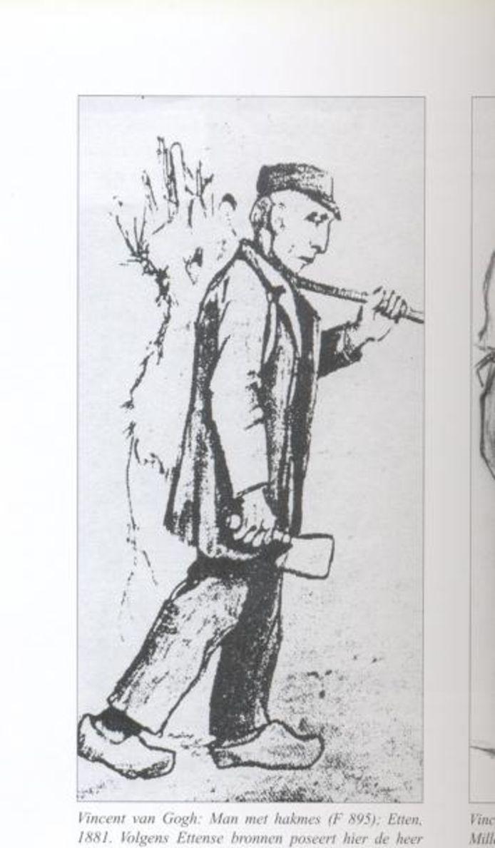 Opa Nooyens, oftewel De Schipper. illustratie Vincent van Gogh