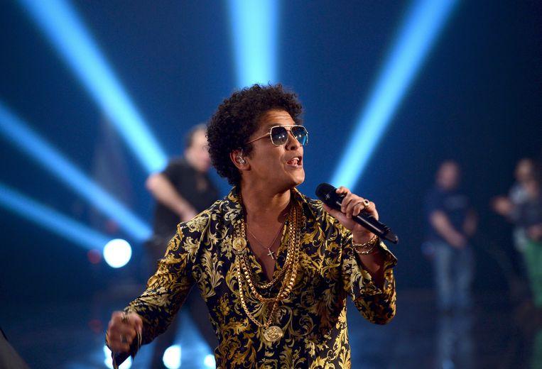 Bruno Mars speelt later deze week op Werchter Boutique. Beeld EPA