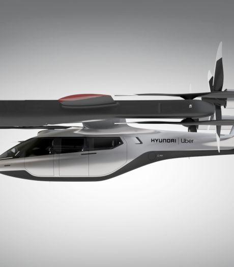 Hyundai en Uber onthullen 'vliegende auto'
