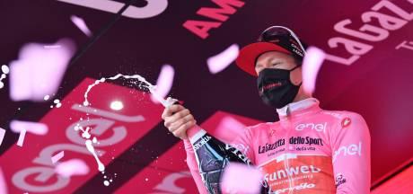 Kelderman negende Nederlander in roze leiderstrui