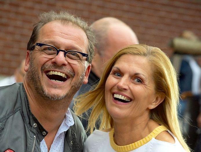 Claude Delatter en zijn vrouw Mia Mandeville, in betere tijden.