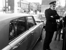 Met vier kogels, waarvan één in het hoofd, werd Britse ambassadeur Sykes dodelijk geraakt op 22 maart 1979