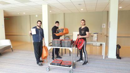 RUMI Centre trakteert ziekenhuispersoneel op 50 pizza's