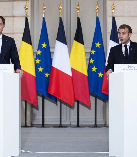 """""""Il était important que la France et la Belgique se parlent urgemment"""""""