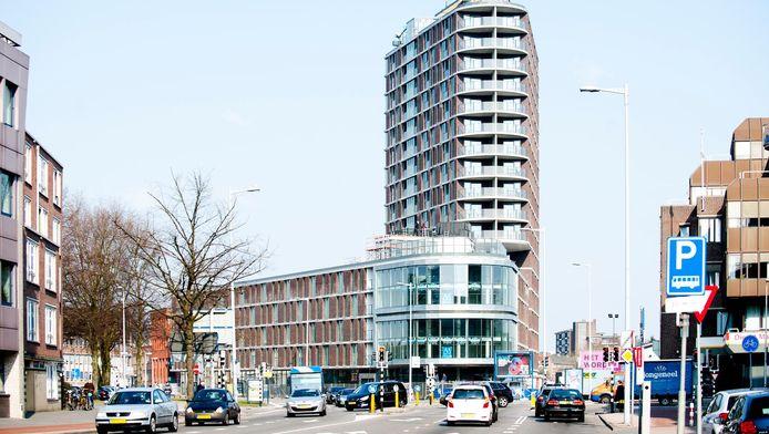 Het nieuwe appartementencomplex Noorderlicht aan de Oudenoord.