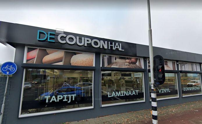 De Couponhal aan de Parkweg in Enschede