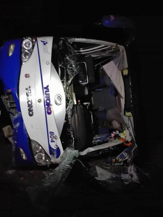 Bij het ongeval vielen zeven doden en raakten zo'n dertig personen gewond.