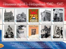 Oorlog en bevrijding in Den Bosch op 20 postzegels