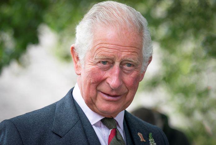 De Britse kroonprins Charles tijdens een bezoek aan Schotland