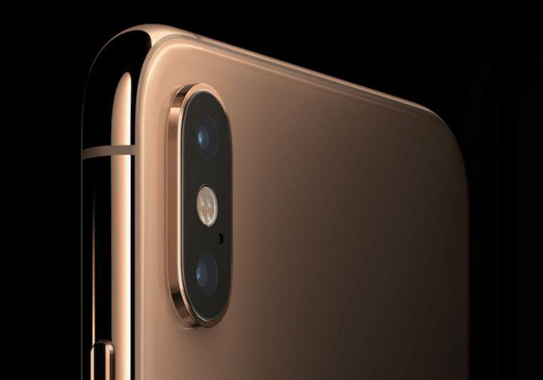 De ingebouwde camera van Apples iPhone XS Max. De camera die in je smartphone zit wordt zienderogen beter.
