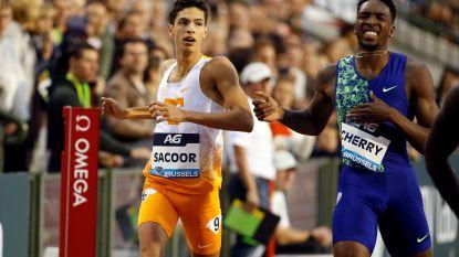 """Sacoor loopt geen WK-limiet, maar... """"In Doha loop ik in de 44"""""""