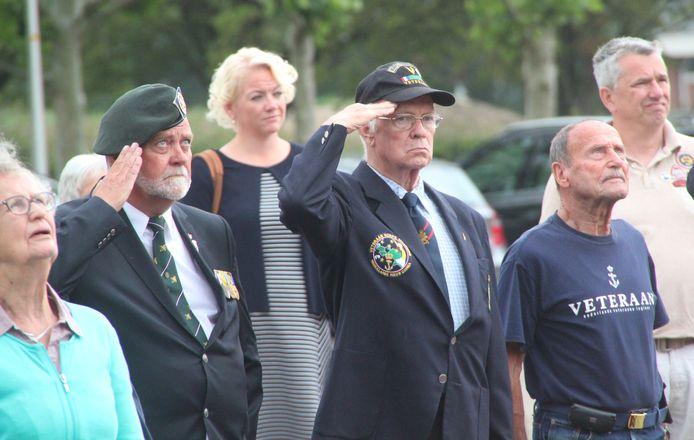 Veteranendag Berkelland op Kamp Holterhoek