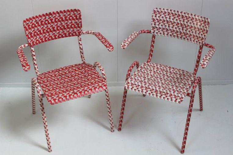 Setje stoelen, €1495 Beeld  Made by Co