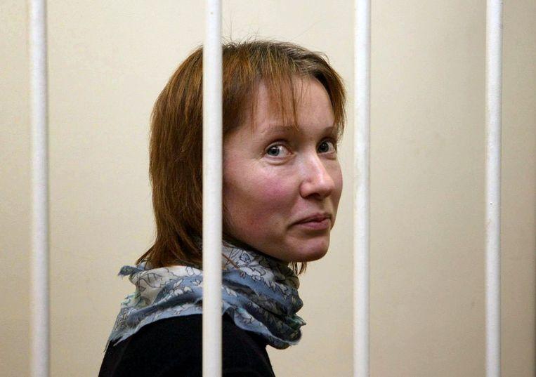Jekaterina Zaspa. Beeld afp