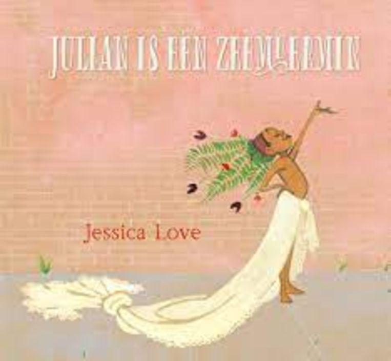 Jessica Love, 'Julian is een zeemeermin',  Uitgeverij Randazzo, 14,99 euro, 4+. Beeld rv