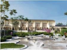 Eerste impressies woningbouwplan Park Vijfsluizen: Iconisch Shellgebouw terug naar originele staat