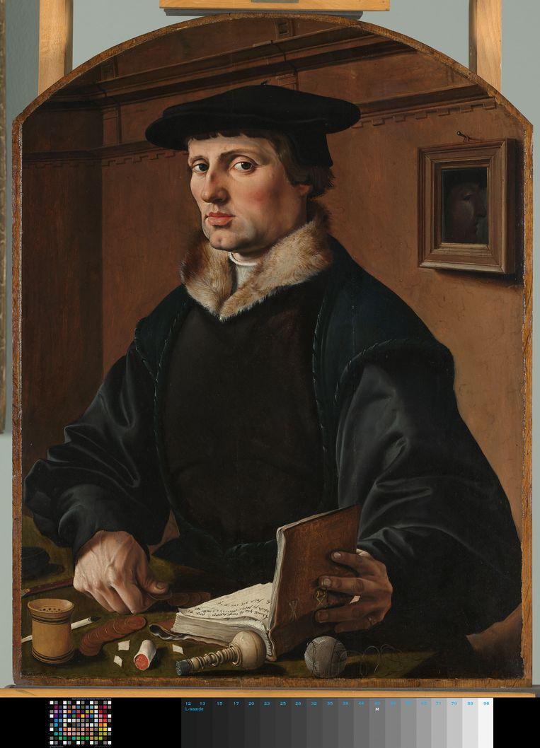 Maarten van Heemskerck, Portret van een man, mogelijk Pieter Gerritsz. Bicker, 1529. Beeld Rijksmuseum Amsterdam