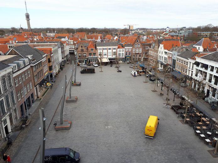 De 35-jarige Pool wordt verdacht van meerdere inbraken bij horecazaken aan de Grote Markt in Goes.