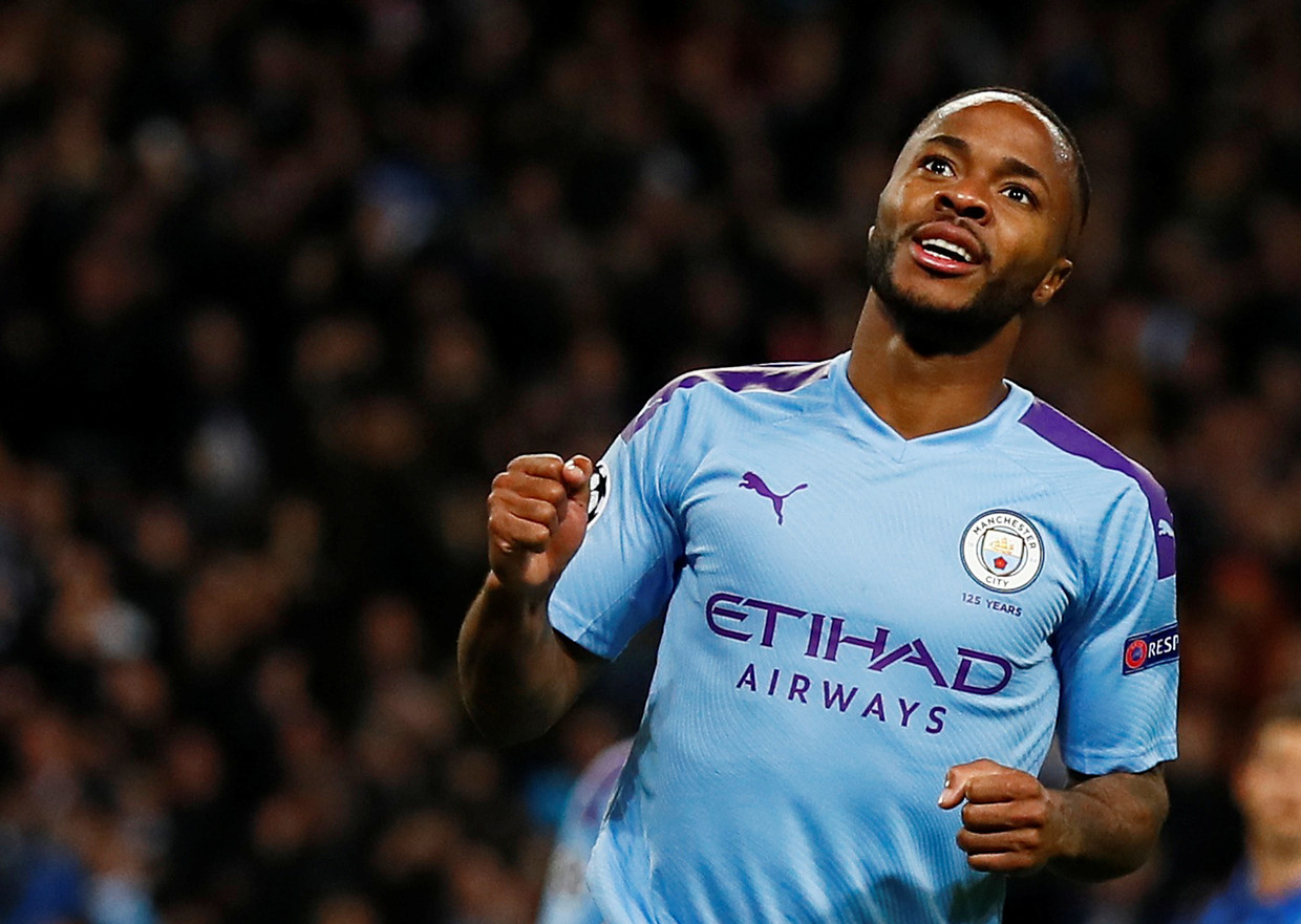 Raheem Sterling (Manchester City) Beeld Action Images via Reuters