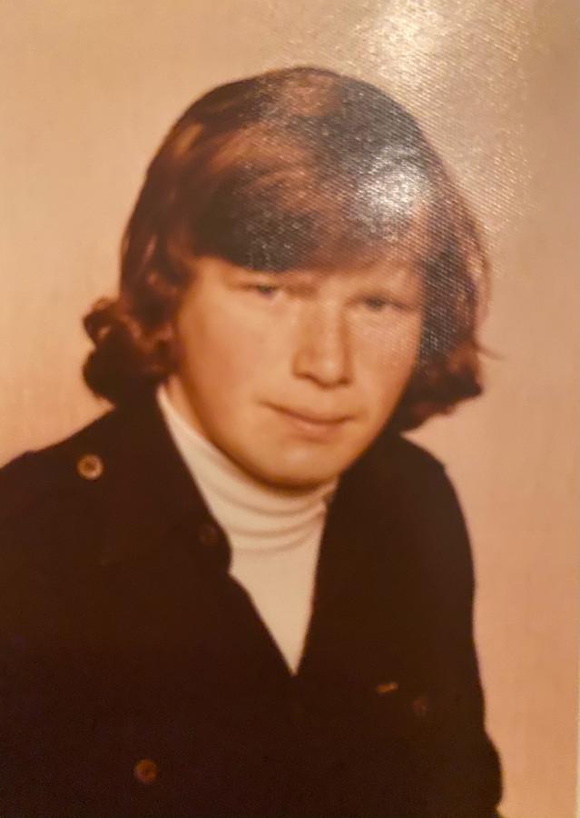 Marc Kenis in zijn jonge jaren.