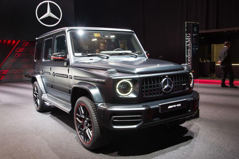 Mercedes AMG G63. Beeld Genin Nicolas/ABACA