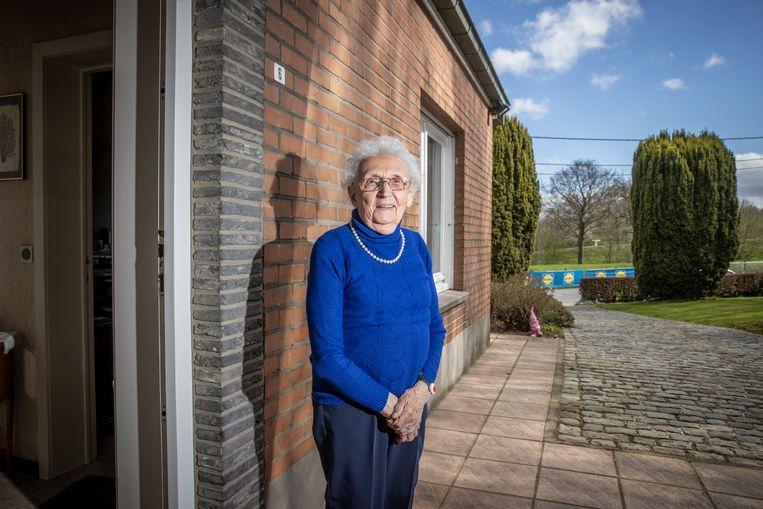Georgette Huysman (97). Beeld Jan De Meuleneir / Photo News