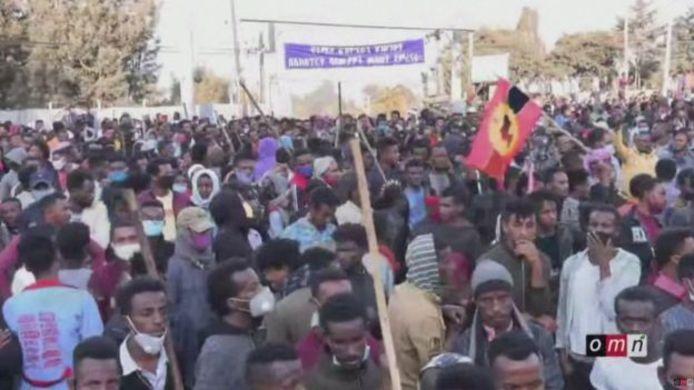 Demonstraties vandaag in Ethiopië na de dood van de populaire protestzanger.