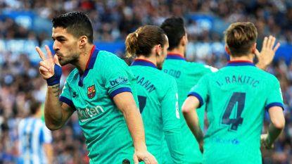 FC Barcelona loopt averij op bij Sociedad met invaller Januzaj, ondanks twee klasseflitsen