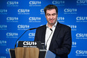 Beiers minister-president en CSU-voorzitter Markus Söder.