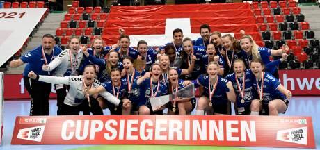 Twentse Sabine Booijink wilde handballen om sneller te integreren, maar gaat nu strijden om het kampioenschap van Zwitserland