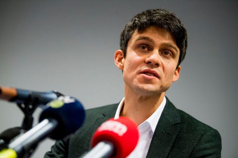 Mediaminister Benjamin Dalle (CD&V): 'Het is de bedoeling om nog voor de zomer een nieuwe CEO aan te stellen.' Beeld BELGA