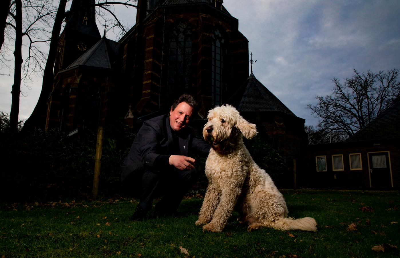 Pastoor Hans Hermens uit Twello.