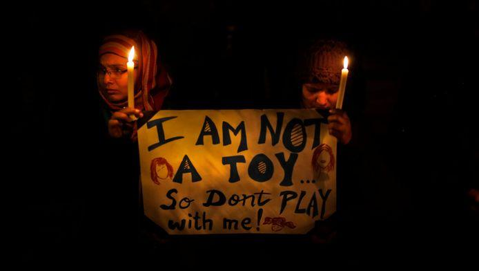 In India groeit de jongste jaren het seksuele geweld tegenover vrouwen en meisjes.