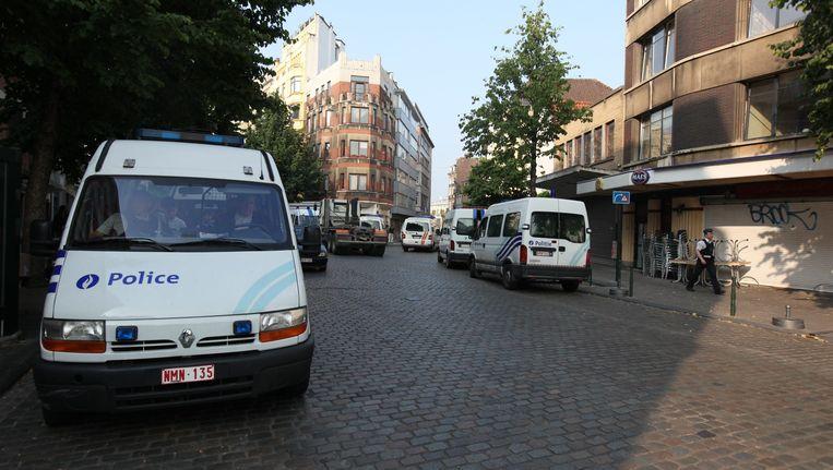 Politie van de zone Brussel West (archiefbeeld). Beeld BELGA