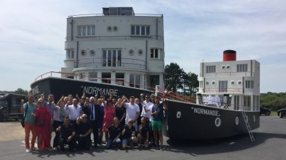 Nieuwste stoetwagen Normandie zondag op garnaalfeesten