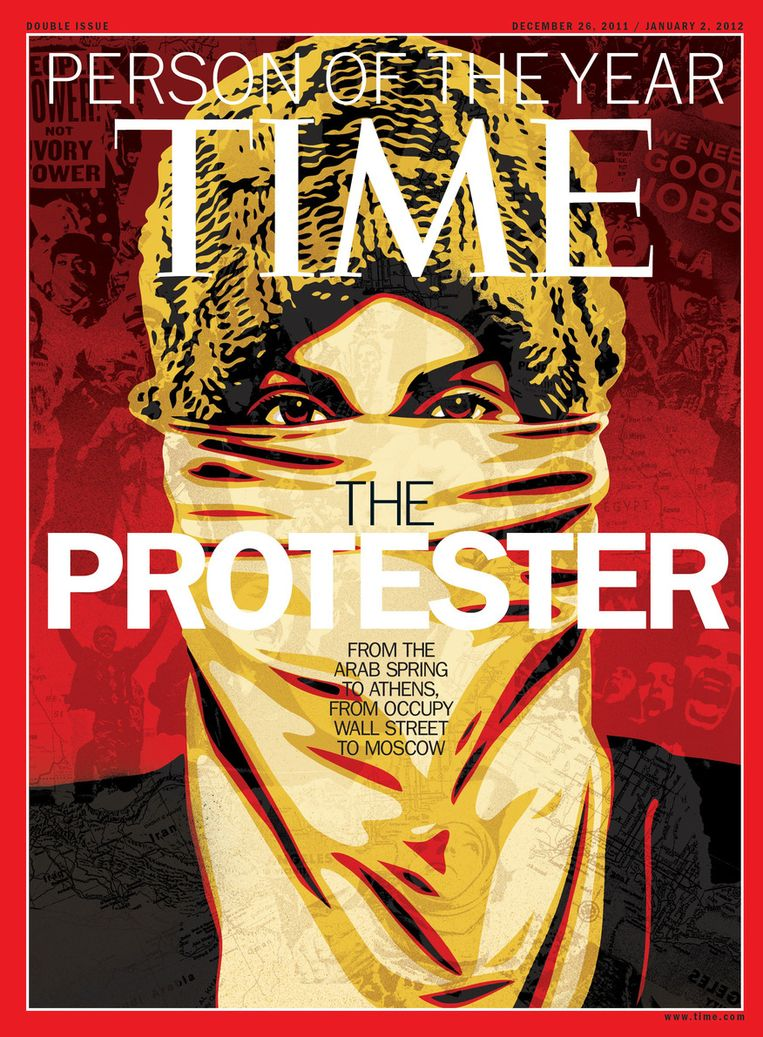 Time magazine. © AFP Beeld