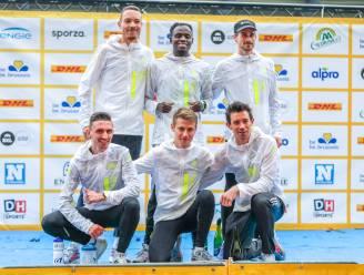 Geen podiumplaatsen voor Ac Geraardsbergen ondanks sterke wedstrijd op BK Ekiden
