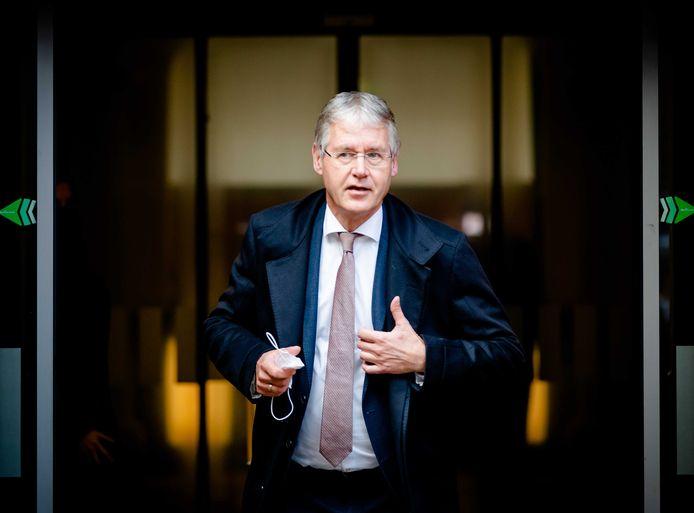 Minister Arie Slob voor Basis- en Voortgezet Onderwijs.