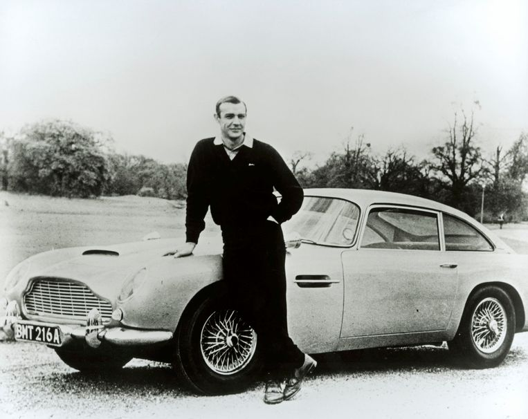 Sean Connery als James Bond in Goldfinger (1964). Beeld reuters