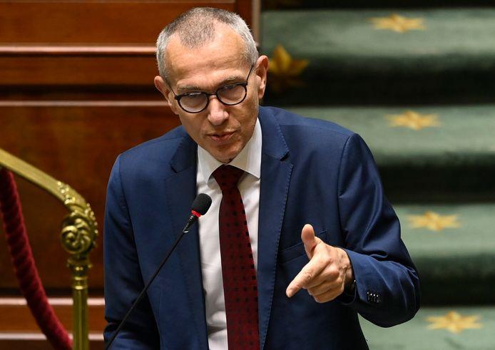 Le ministre de la Santé Frank Vandenbroucke à la Chambre.