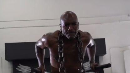 """Holyfield ziet gevecht tegen ex-rivaal Tyson wel zitten, """"maar hij moet me uitdagen"""""""