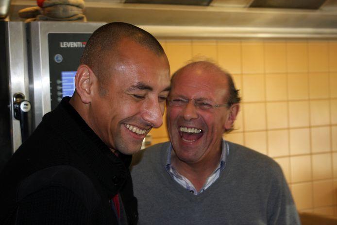 Heurelho Gomes en Mart van den Heuvel.