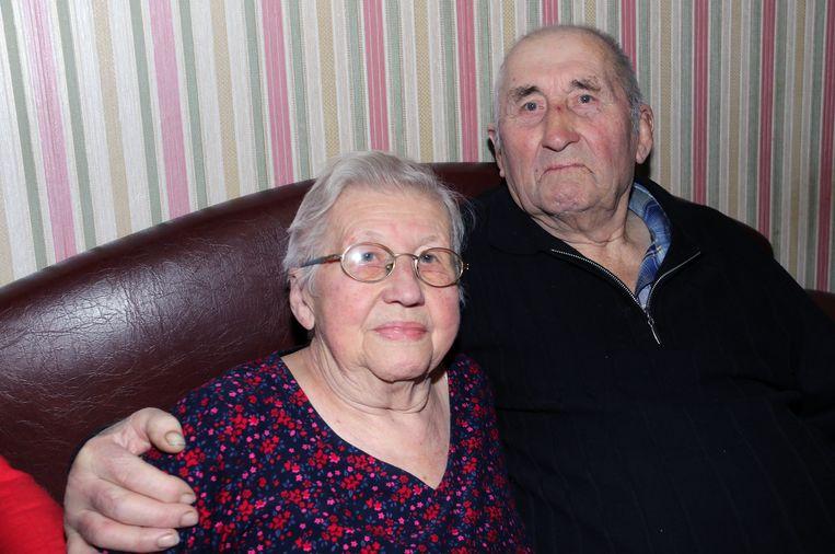 Philomena Bries en Florent Luyten zijn 65 jaar getrouwd.