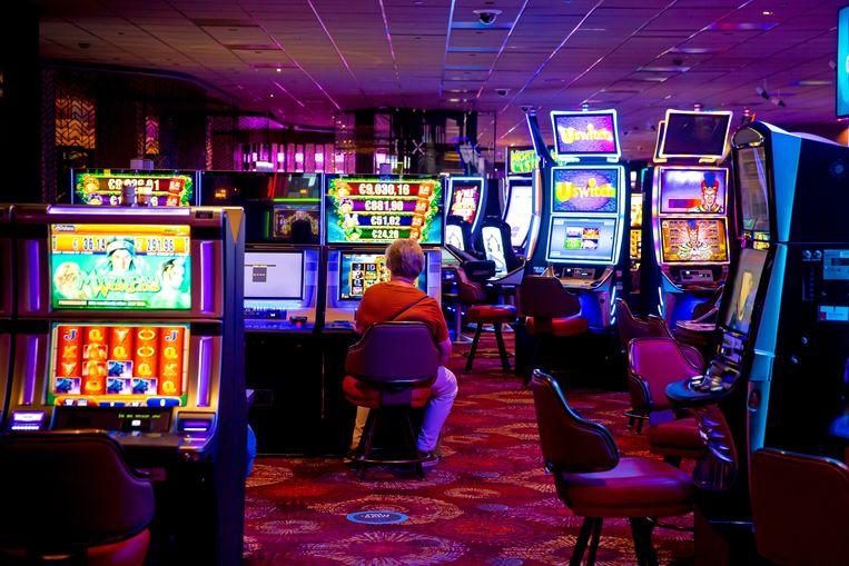 Een vestiging van Holland Casino in Rotterdam. Beeld Bart Hoogveld / ANP
