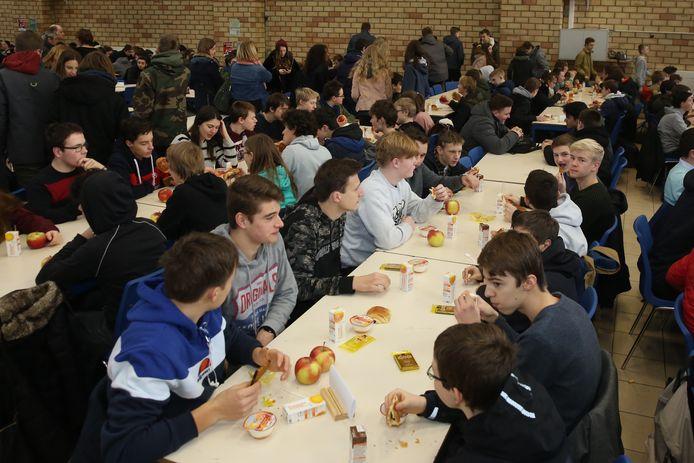 Het Feest van Don Bosco wordt in Halle gevierd op de school met een groot ontbijt en optredens.