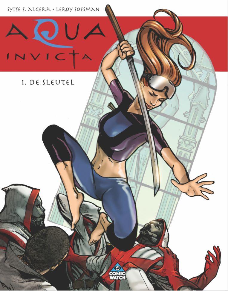 De cover van 'Aqua Invicta 1: De sleutel' Beeld RV