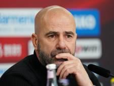 Bosz gelooft in kleine kans Leverkusen: 'Rekenen heeft geen zin'