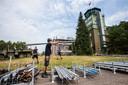De opbouw voor Onder de Radar Festival is donderdag van start gegaan