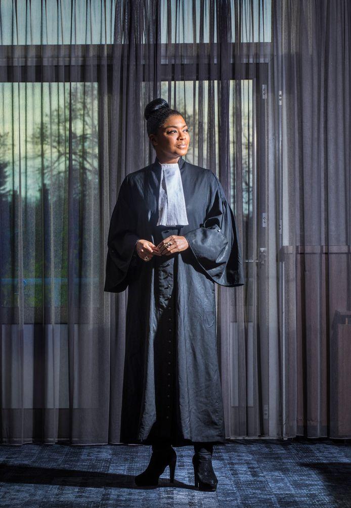 Advocaat Natacha Harlequin. (Den Haag 22-11-19) Foto:Frank Jansen