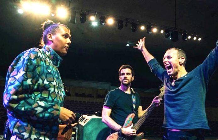 Stromae met Coldplay